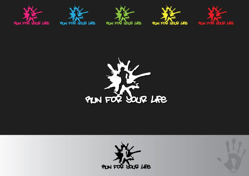 Proposition n°                                        9                                      du concours                                         Logo Design for Runners Club