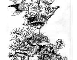 #19 untuk Ilustración steampunk oleh ecomoglio
