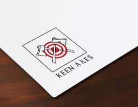 Nro 100 kilpailuun Logo design for an Axe Throwing business käyttäjältä mdshoumikmondol