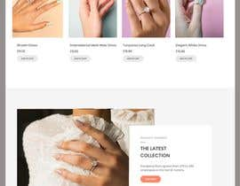 #6 for design home page for print webshop by hosnearasharif