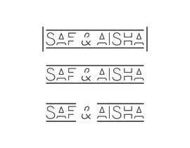 #114 cho logo for wedding ( Saf & Aisha ) or ( S & A ) bởi CreativityforU
