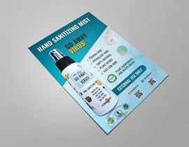Nro 26 kilpailuun Design me a single promotional flyers for my brand new hand sanitizer for Kids (Instagram post size) käyttäjältä creativeexpose