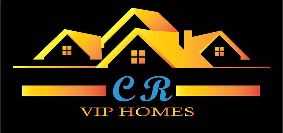 """Contest Entry #                                        68                                      for                                         logo for real estate """"Cr Vip Homes"""""""