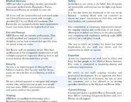 #13 для Redesign company document от valeriecasanova