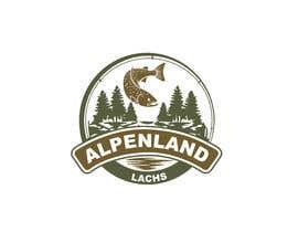 #21 untuk Logo Desing Alpenlandlachs oleh jamandesigner