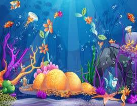 #28 для Cartoon Mermaid Scene от Anwesha11