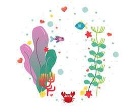#8 для Cartoon Mermaid Scene от gabysklona