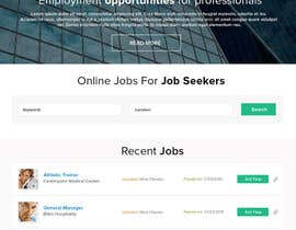 nº 2 pour Design a Job Board WordPress Themes mockup par rahul0887