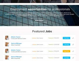 nº 16 pour Design a Job Board WordPress Themes mockup par rahul0887