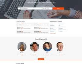nº 49 pour Design a Job Board WordPress Themes mockup par superock