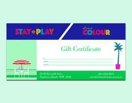 #41 для Create Gift Certificate от luphy
