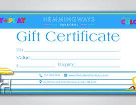 #28 for Create Gift Certificate by sadiasultana282