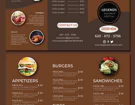 #10 for Restaurant Menu Re-Design by creative33t