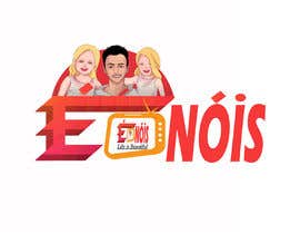 #77 для I need a logo with the phrase  É Nóis and is for a vlog channel and I have identical twin daughters, i really want the words in a cool font and something nice but if you can add something twins related that is a bonus. от Zgmamun