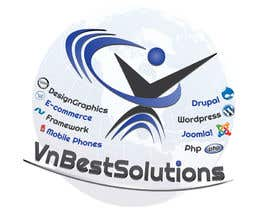 nº 24 pour Logo Design for VnBestSolutions par krizdeocampo0913