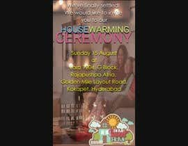 #6 for House warming video invitation af naseerktk