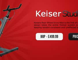#12 untuk Banner Ad Design for Gym Equipment Supplier oleh miekee09