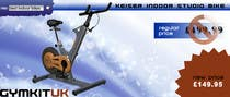 Banner Ad Design for Gym Equipment Supplier için Graphic Design2 No.lu Yarışma Girdisi