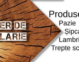 #21 pentru Creare banner outdoor-  atelier tamplarie lemn de către kristofihans