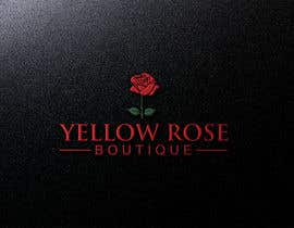 #198 for Logo Design For Yellow Rose Boutique - Clothing Store by hossinmokbul77