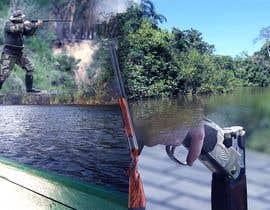 """nº 2 pour visuelle """"Séjour d'initiation à la chasse en milieu amazonien"""" par Andy013"""