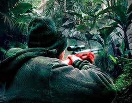 """nº 10 pour visuelle """"Séjour d'initiation à la chasse en milieu amazonien"""" par AlexeCioranu"""