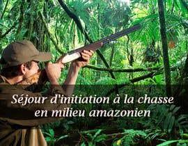 """nº 16 pour visuelle """"Séjour d'initiation à la chasse en milieu amazonien"""" par AnneReis"""