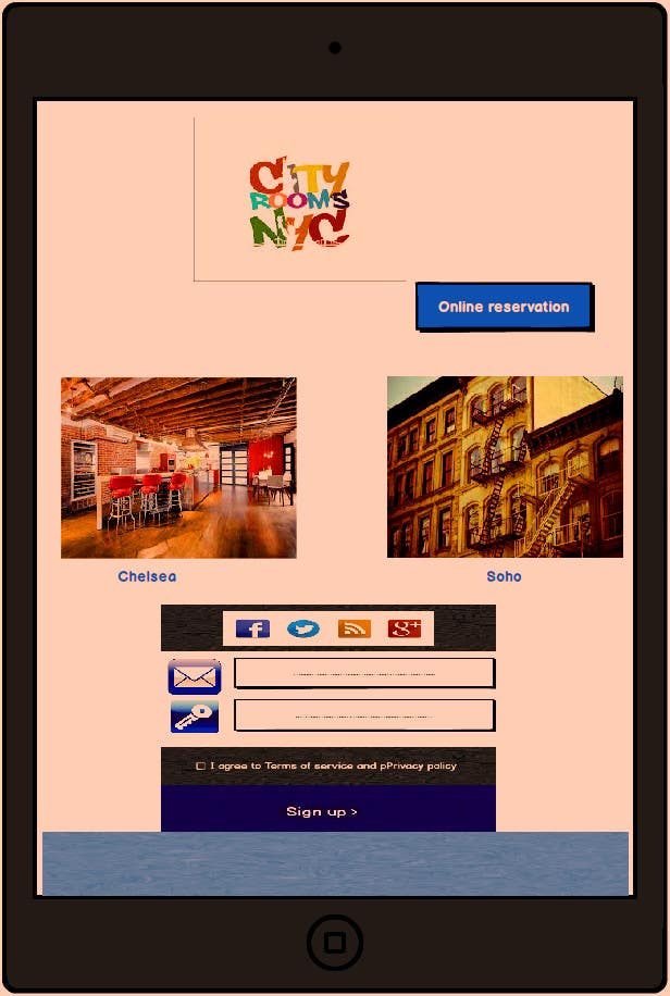 Penyertaan Peraduan #                                        12                                      untuk                                         UI WebPage Graphic Design for 3 Pages