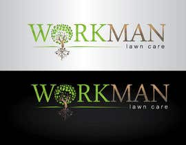 "#87 untuk Logo Design for ""Workman Lawn Care oleh GeorgeOrf"