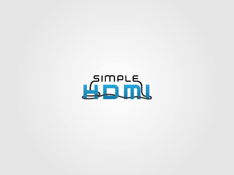 Kilpailutyö #                                        107                                      kilpailussa                                         Logo Design Simple HDMI