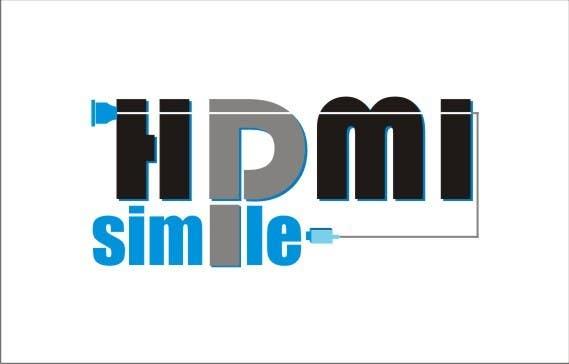 Kilpailutyö #                                        76                                      kilpailussa                                         Logo Design Simple HDMI