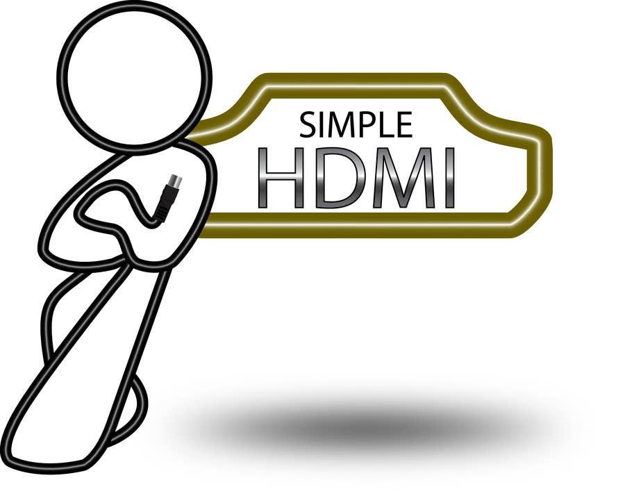 Kilpailutyö #                                        102                                      kilpailussa                                         Logo Design Simple HDMI