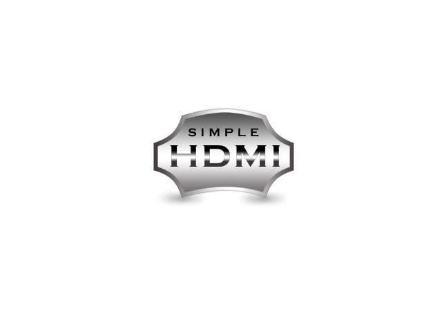 Kilpailutyö #                                        77                                      kilpailussa                                         Logo Design Simple HDMI
