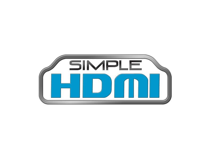 Kilpailutyö #                                        23                                      kilpailussa                                         Logo Design Simple HDMI