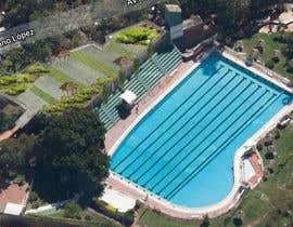 #3 para Arquitectura paisaje y jardineria y Diseño: Foto Montaje Terraza Verde en Piscina (Swimming Pool Green Roof Space) de benve07