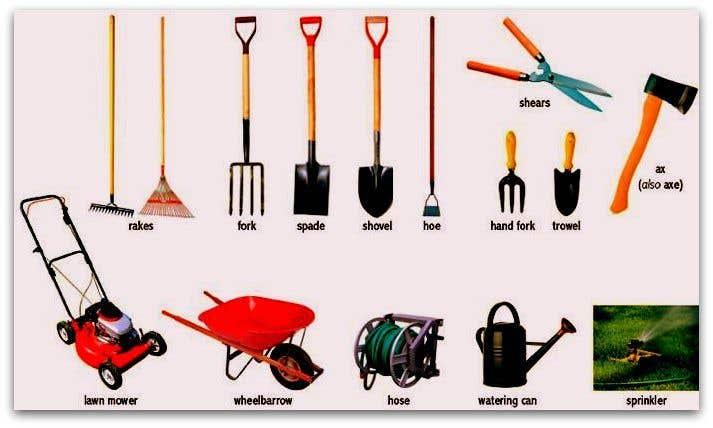 """Intrarea #                                        32                                      pentru concursul """"                                        Garden tool survey                                     """""""