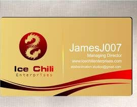 #48 for Logo Design, Letterhead & Business Card for Ice Chili Enterprises by maxindia099