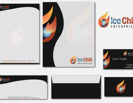 #41 untuk Logo Design, Letterhead & Business Card for Ice Chili Enterprises oleh rashedhannan