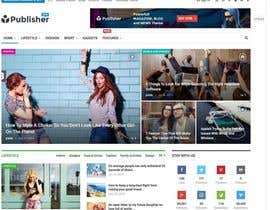 #7 for Homepage design for Wordpress site using Storefront theme by bishalali101
