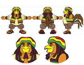 #24 para RASTA CHICKEN AKA MR. JERK!!! de taks0not