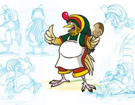 #59 para RASTA CHICKEN AKA MR. JERK!!! por sjbeckettdesign