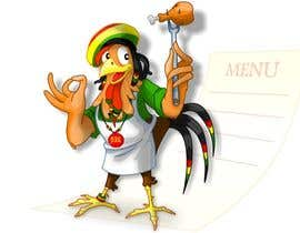 #46 for RASTA CHICKEN AKA MR. JERK!!! by ciprian0077