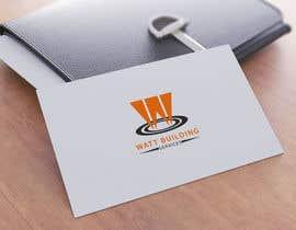 Gauranag86 tarafından Design a Logo for Watt Building Services için no 15