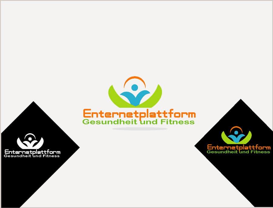 Kilpailutyö #                                        10                                      kilpailussa                                         Logo Design for Internetplattform Gesundheit und Fitness