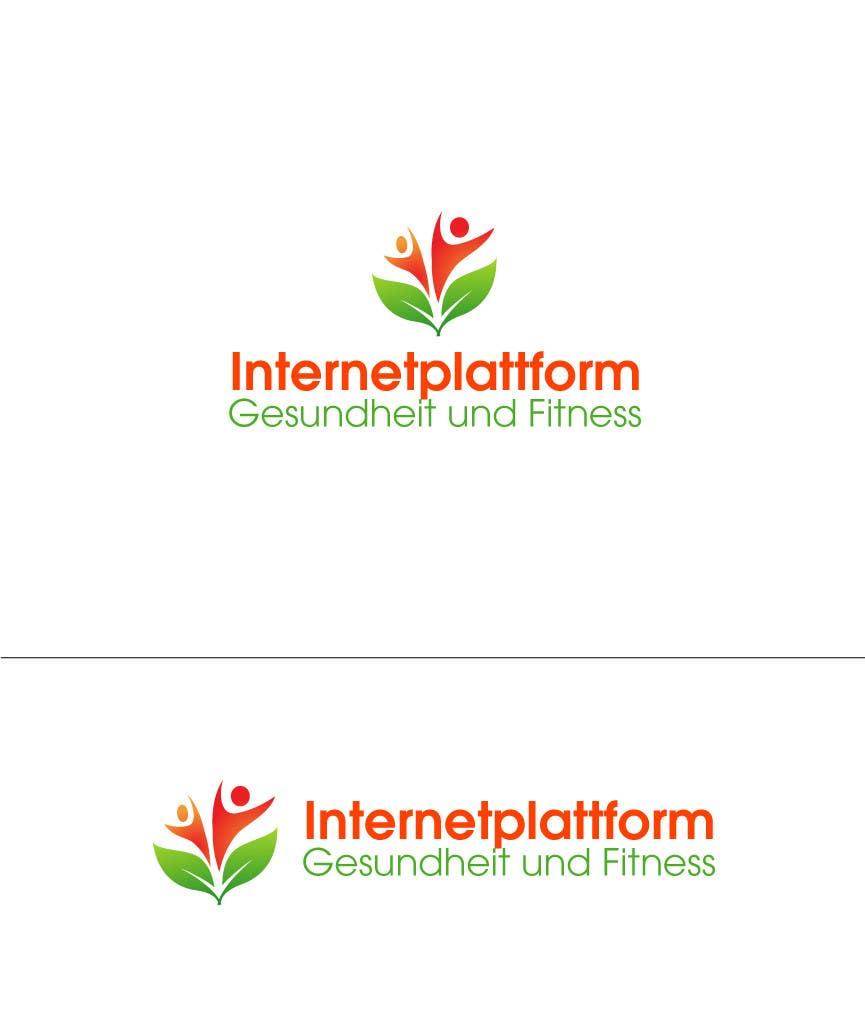 Kilpailutyö #                                        7                                      kilpailussa                                         Logo Design for Internetplattform Gesundheit und Fitness
