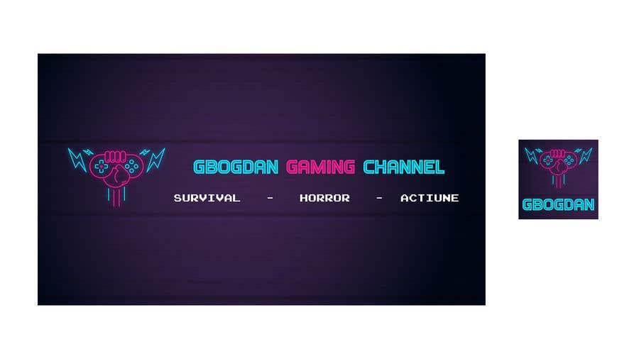 """Intrarea #                                        1                                      pentru concursul """"                                        Banner + profil pentru un canal de Gaming pe YT                                     """""""