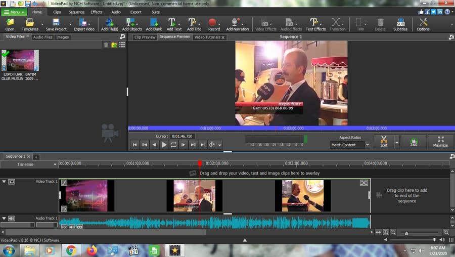 Wettbewerbs Eintrag #                                        9                                      für                                         Easy Video Edditing Job
