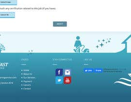 #16 for Need unique footer design for our careers page by jitendraportrait