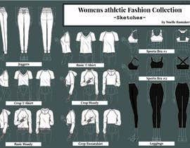 #10 for WOMENS ATHLETIC FASHION SKETCHES by NoraTextile