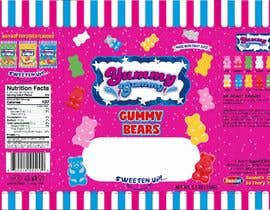 #60 for Create a design for the packaging - Gummy Bear Candy package design by Nomi794